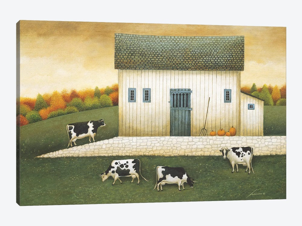 Grazing by Lowell Herrero 1-piece Canvas Wall Art