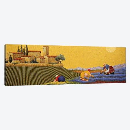 Hillside Flowers Canvas Print #LWE60} by Lowell Herrero Canvas Print