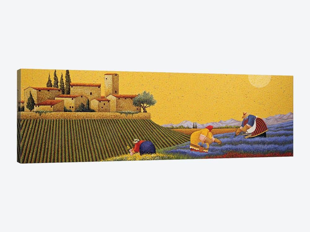 Hillside Flowers by Lowell Herrero 1-piece Canvas Art