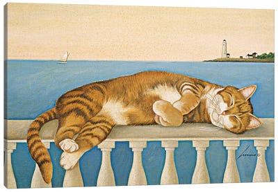 Hot Rod Granovsky Lighthouse Canvas Art Print