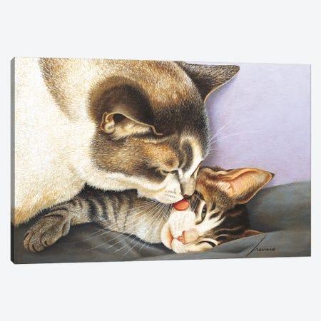 Jennifer & Rocket Molyneaux Canvas Print #LWE64} by Lowell Herrero Canvas Art