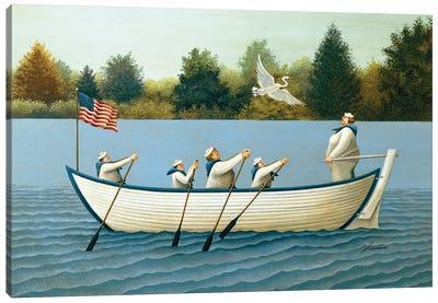 Ladies Of The Lake Canvas Art Print