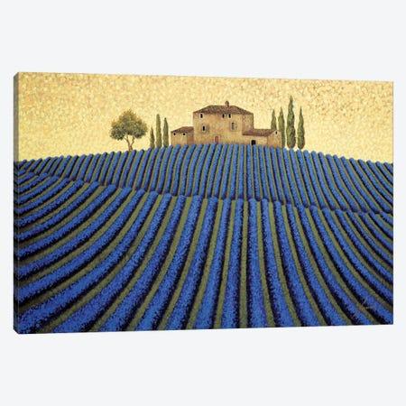 Lavender Landscape Canvas Print #LWE70} by Lowell Herrero Canvas Wall Art