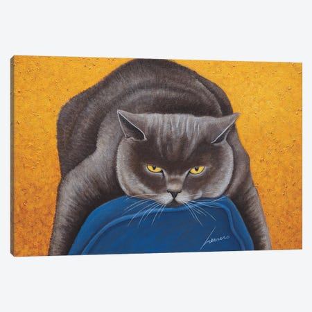 Max Hiller Canvas Print #LWE76} by Lowell Herrero Art Print