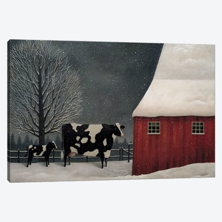 Midwest Winter Canvas Print #LWE78} by Lowell Herrero Canvas Art