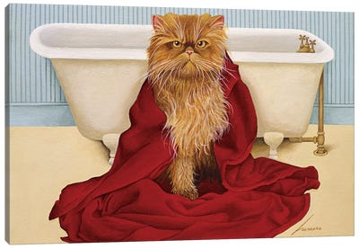 Miss Vicki Simms Canvas Art Print