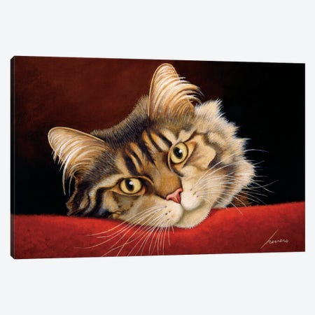 Mocha Dominguez Canvas Print #LWE82} by Lowell Herrero Canvas Art Print