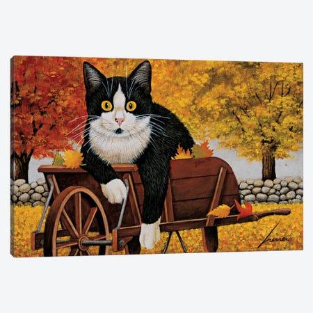 Molly Granovsky Wheelbarrow Canvas Print #LWE84} by Lowell Herrero Canvas Wall Art
