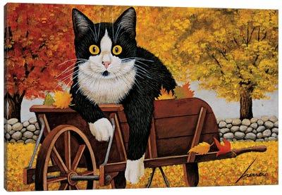 Molly Granovsky Wheelbarrow Canvas Art Print