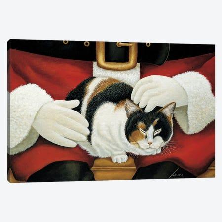 Molly Mangelsdorf-Christmas Canvas Print #LWE86} by Lowell Herrero Canvas Art