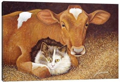 Barn Buddies Canvas Art Print