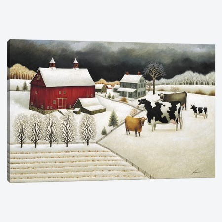 Passing Storm Canvas Print #LWE93} by Lowell Herrero Canvas Artwork
