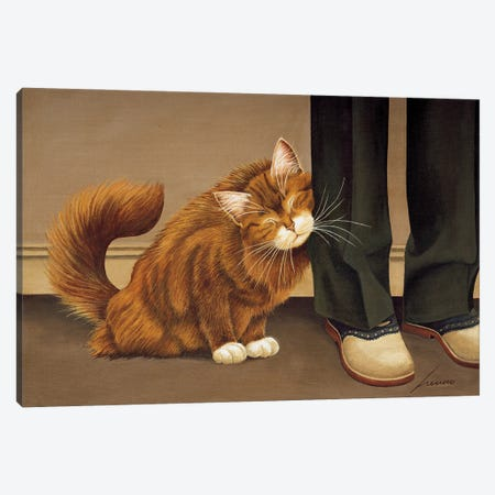 Penny Canvas Print #LWE94} by Lowell Herrero Canvas Print