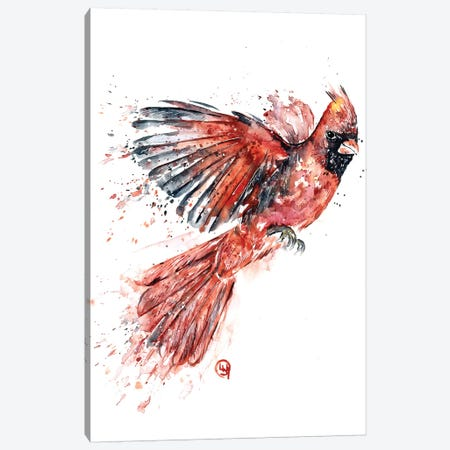 Cardinal Canvas Print #LWH101} by Lisa Whitehouse Canvas Artwork