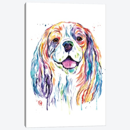 Cavalier Canvas Print #LWH102} by Lisa Whitehouse Canvas Artwork