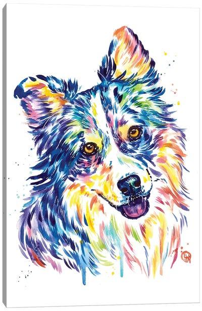 Australian Shepherd Canvas Art Print
