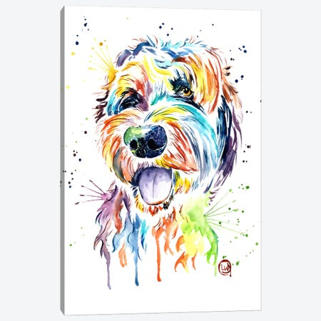 Doodle Of A Doodle Canvas Print #LWH11} by Lisa Whitehouse Canvas Art Print