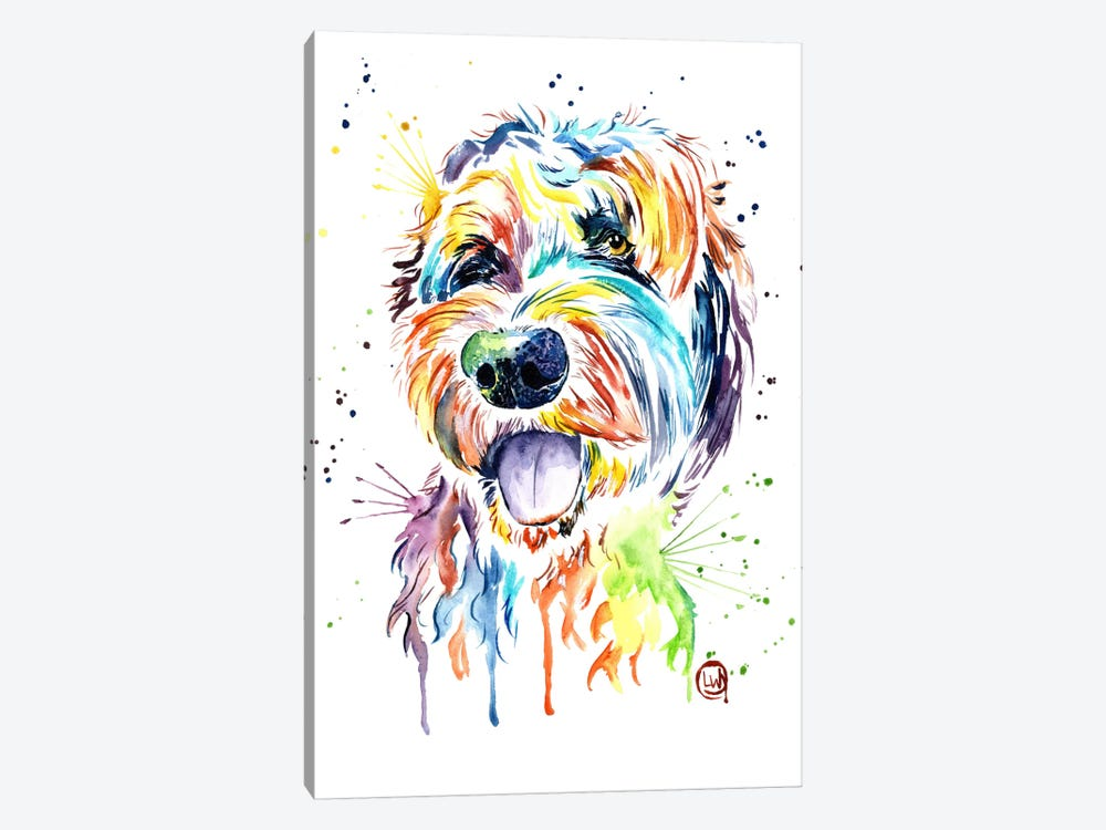 Doodle Of A Doodle by Lisa Whitehouse 1-piece Canvas Art Print