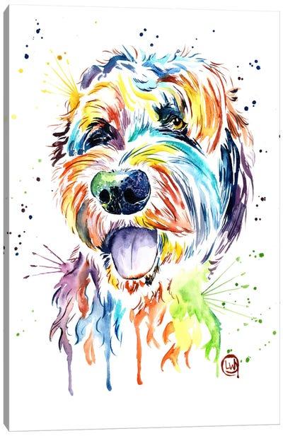 Doodle Of A Doodle Canvas Art Print