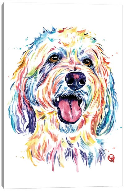Goldendoodle - Charlie Canvas Art Print