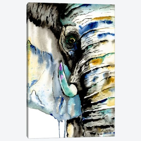 Elephant Canvas Print #LWH12} by Lisa Whitehouse Canvas Art Print