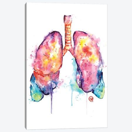 Just Breathe Canvas Print #LWH139} by Lisa Whitehouse Canvas Art Print