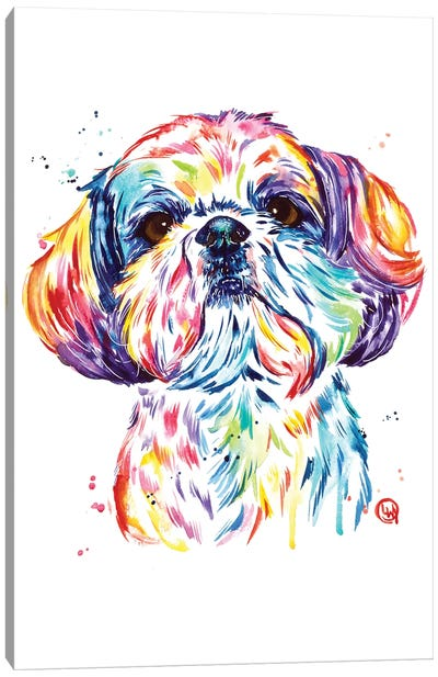Kiki The Shih Tzu Canvas Art Print