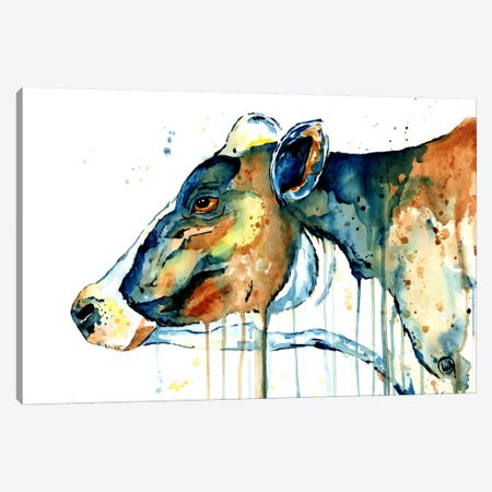 Feeling Blue Canvas Print #LWH15} by Lisa Whitehouse Canvas Art
