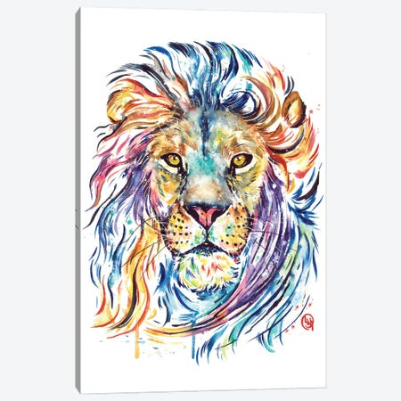 Courage Dear Heart Canvas Print #LWH160} by Lisa Whitehouse Canvas Art