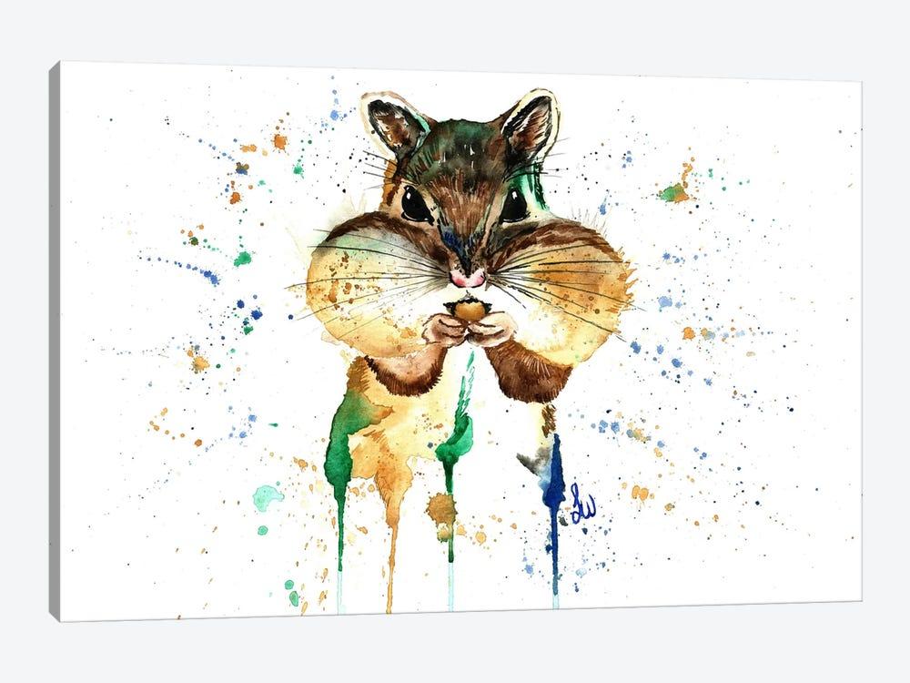 Feeling Stuffed by Lisa Whitehouse 1-piece Canvas Art
