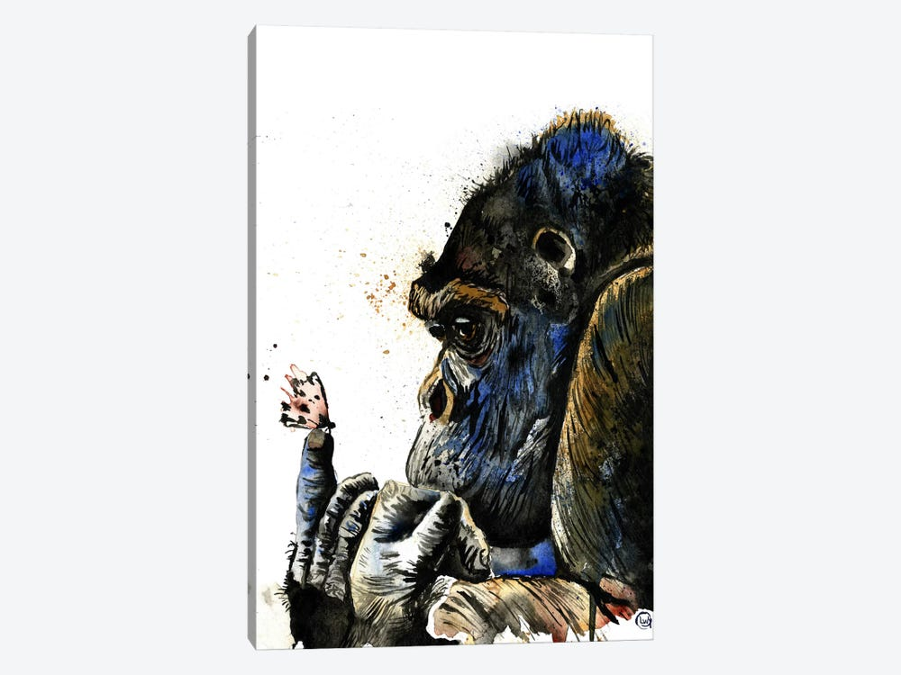 Gentle Giant by Lisa Whitehouse 1-piece Canvas Print