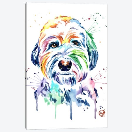 Gus Canvas Print #LWH21} by Lisa Whitehouse Canvas Artwork