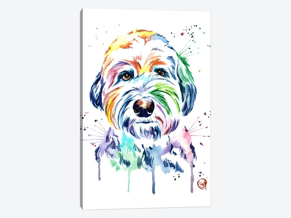 Gus by Lisa Whitehouse 1-piece Canvas Art