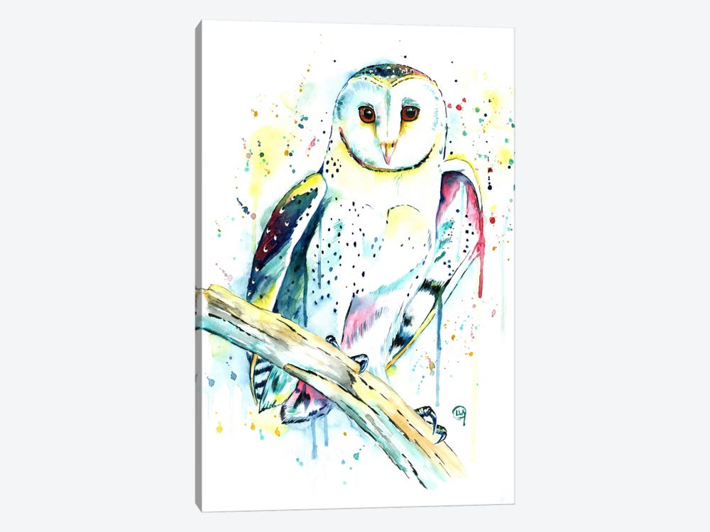 Hooot by Lisa Whitehouse 1-piece Art Print