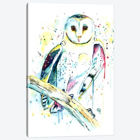 Hooot Canvas Print #LWH24} by Lisa Whitehouse Canvas Print