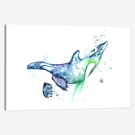 Into The Blue Canvas Print #LWH26} by Lisa Whitehouse Canvas Print