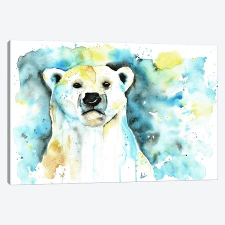 Like A Boss Canvas Print #LWH29} by Lisa Whitehouse Canvas Wall Art