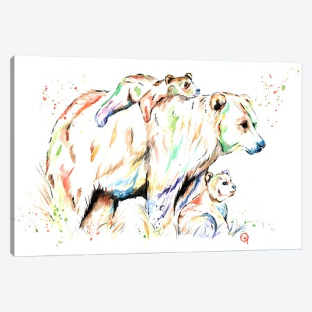 And Then There Were Three Canvas Print #LWH2} by Lisa Whitehouse Canvas Wall Art