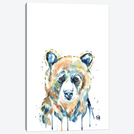 Peekaboo Bear Canvas Print #LWH32} by Lisa Whitehouse Canvas Print