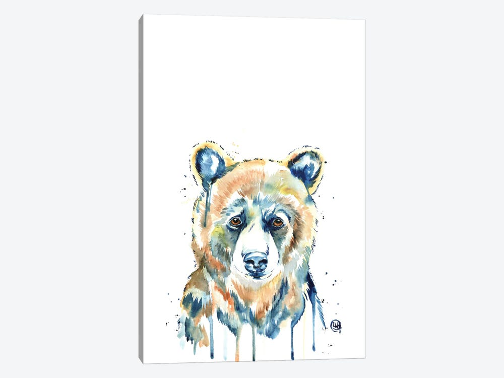 Peekaboo Bear by Lisa Whitehouse 1-piece Canvas Artwork