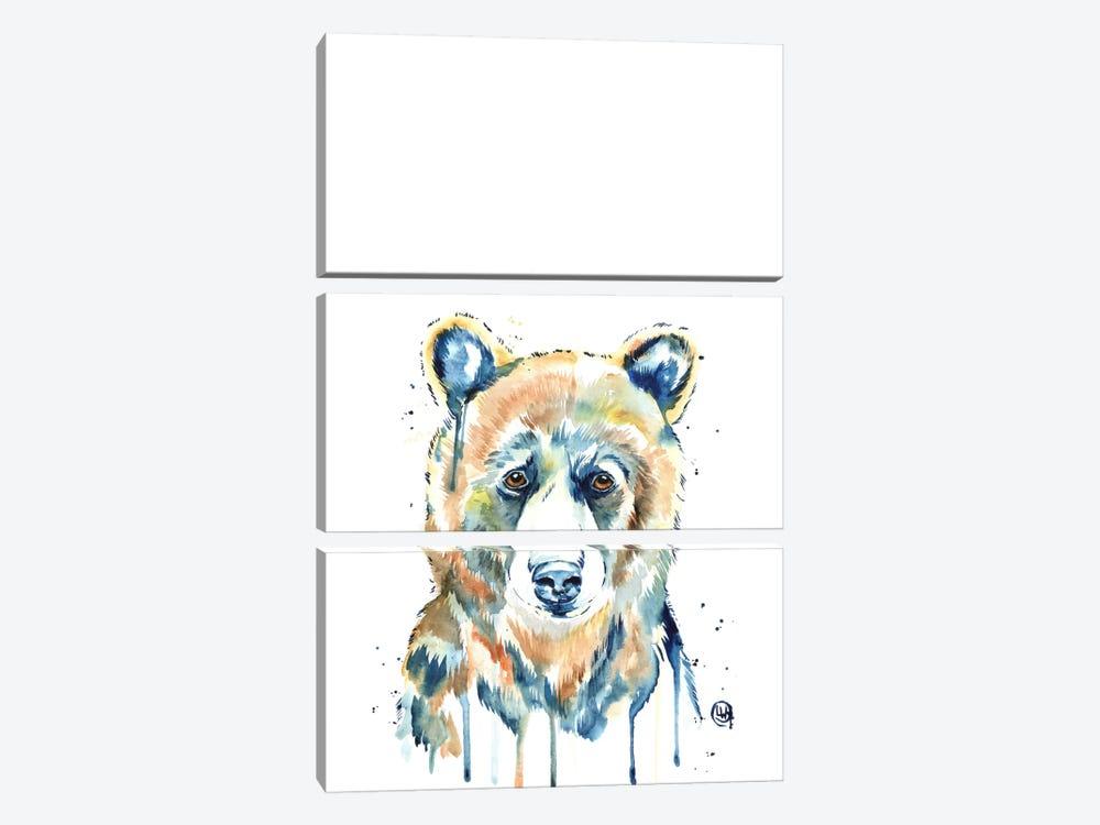 Peekaboo Bear by Lisa Whitehouse 3-piece Canvas Art