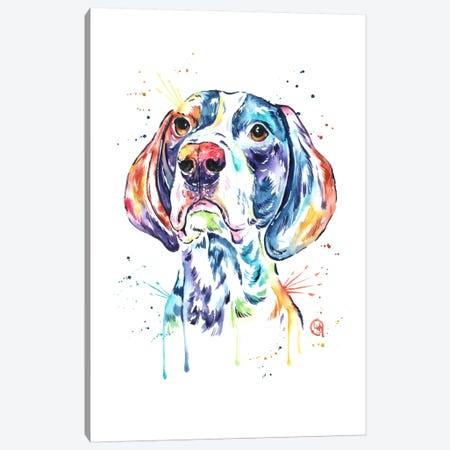 Pointer Canvas Print #LWH34} by Lisa Whitehouse Canvas Artwork