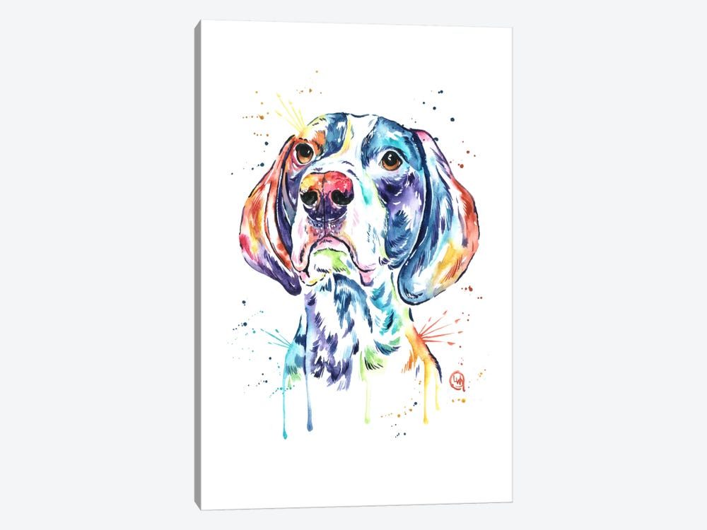 Pointer by Lisa Whitehouse 1-piece Canvas Art