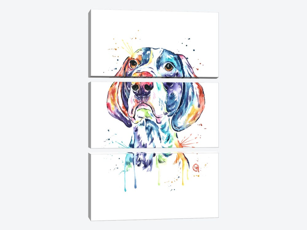 Pointer by Lisa Whitehouse 3-piece Canvas Artwork