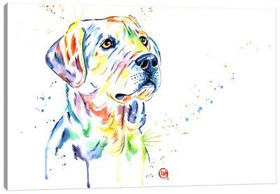 Puppy Star Canvas Art Print