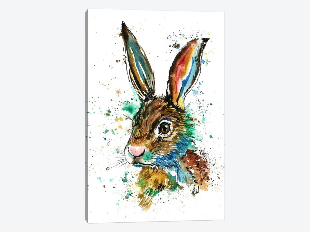 Real Bunny by Lisa Whitehouse 1-piece Canvas Artwork