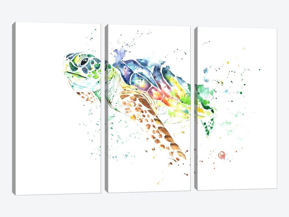 Snap by Lisa Whitehouse 3-piece Canvas Art