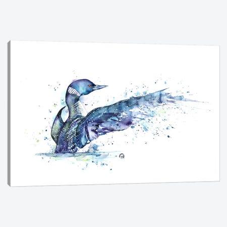 Splash Canvas Print #LWH42} by Lisa Whitehouse Canvas Wall Art