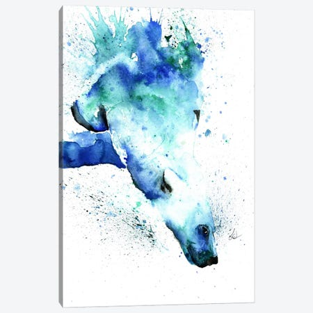 The Plunge Canvas Print #LWH44} by Lisa Whitehouse Canvas Print