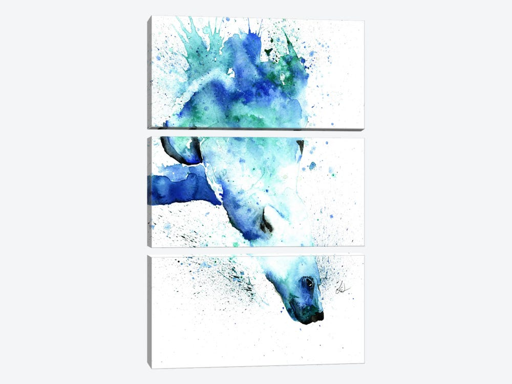 The Plunge by Lisa Whitehouse 3-piece Canvas Print